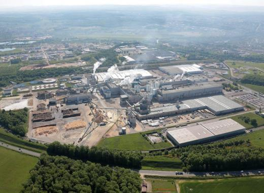 Centrale biomasse Veolia et Norske Skog Golbey