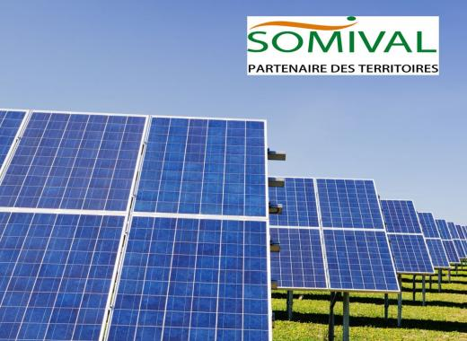 Centrale Solaire Somival à Freyming-Merlebach