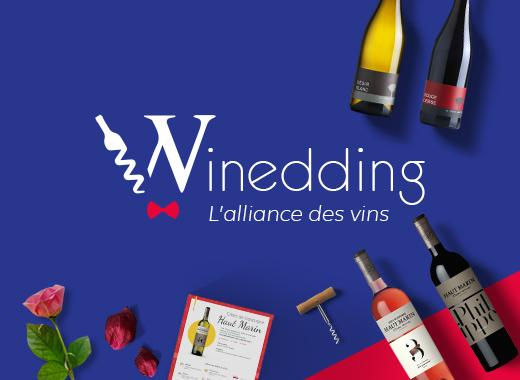Winedding, l'alliance des vins