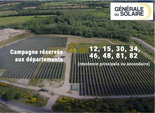 Centrale solaire à Pessens