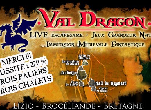 Val Dragon - Site de Jeux en Grandeur Nature