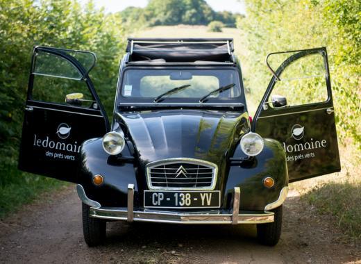 Une nouvelle 2CV pour des balades en Bourgogne