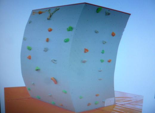 Acquérir une structure d'escalade autonome