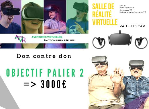 Arcade VR (Salle d'Arcade - Réalité Virtuelle)