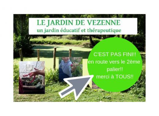 Le Jardin de Vezenne ,un jardin éducatif et thérapeutique
