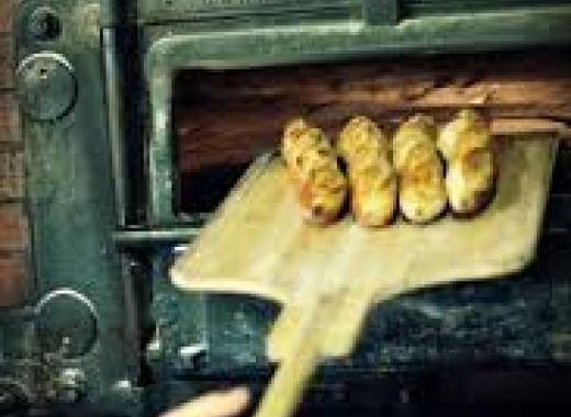 Chez biscuit pain bio au levain cuit au four à bois