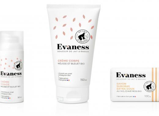 Evaness: Des cosmétiques naturels au lait d'ânesse