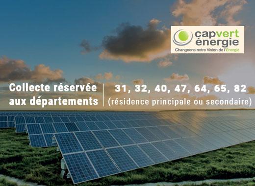 Centrale solaire Cap Vert Energie à Pavie