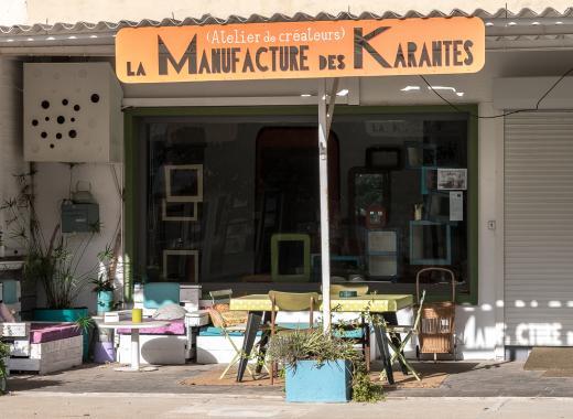 Manufacture des karantes