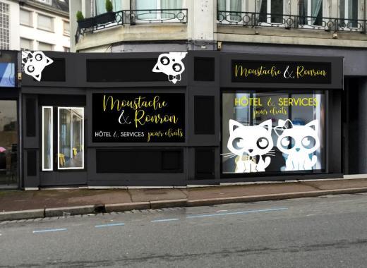Moustache & Ronron, Hôtel pour chats.
