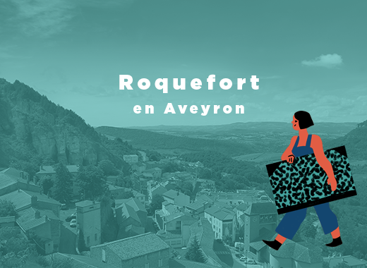 Street art au village de Roquefort