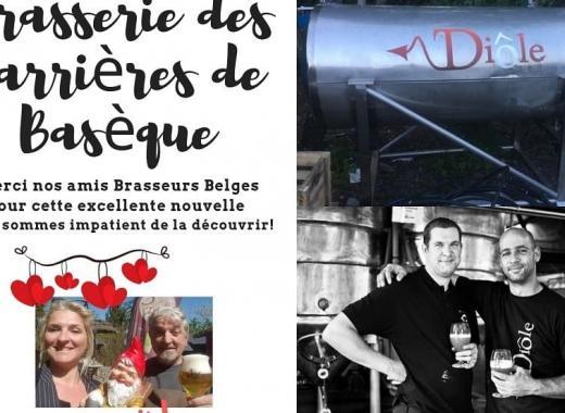 "La 3 Tertres Fronsac Bières Bio ""tradition Belge"""
