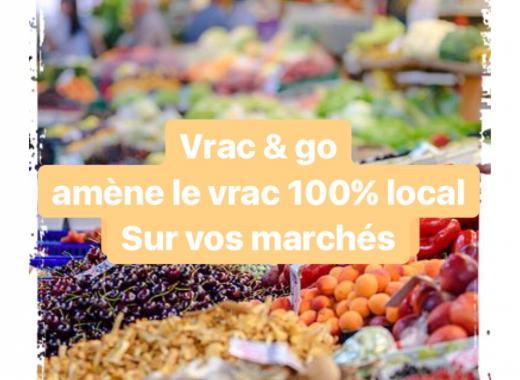 Vrac & Go , première épicerie vrac, ambulante et locavore de l'agglomération Paloise