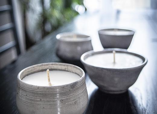 Création de bougies éco-responsable